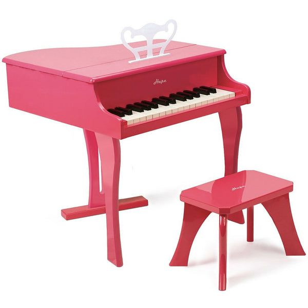 Hape - Pink Grand Piano | KidzInc Australia | Online Educational Toy Store