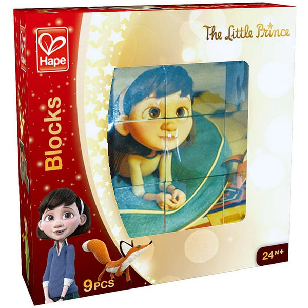 Hape - The Little Prince Wooden Blocks (9 Pieces) | KidzInc Australia | Online Educational Toy Store