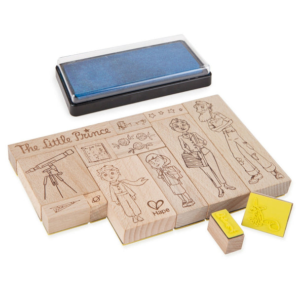Hape - The Little Prince Stamp Set | KidzInc Australia | Online Educational Toy Store