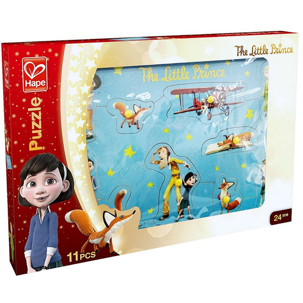 Hape - The Little Prince Wooden Puzzle (10 Pieces) | KidzInc Australia | Online Educational Toy Store