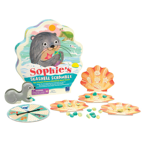 Educational Insights - Sophie's Seashell Scramble Game | KidzInc Australia | Online Educational Toy Store