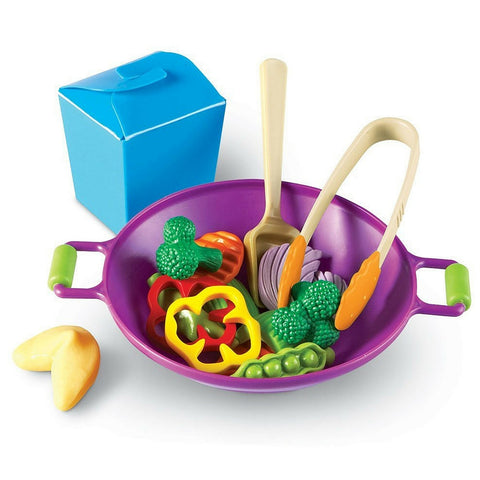 Learning Resources - New Sprouts Stir Fry Set | KidzInc Australia | Online Educational Toy Store