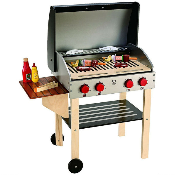 Hape - Gourmet Grill With Food | KidzInc Australia | Online Educational Toy Store