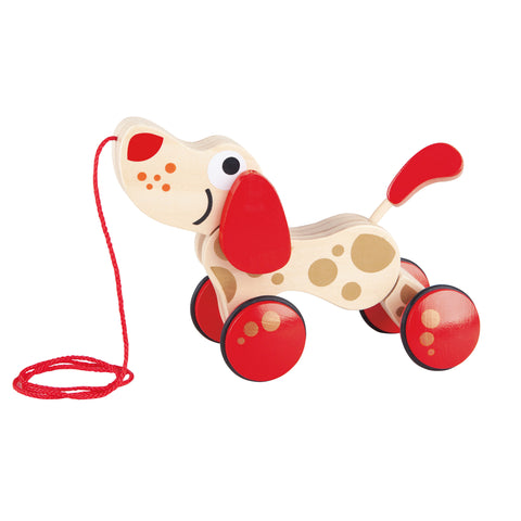 Hape - Walk-a-Long Puppy 30th Anniversary 2016 Limited Edition | KidzInc Australia | Online Educational Toy Store