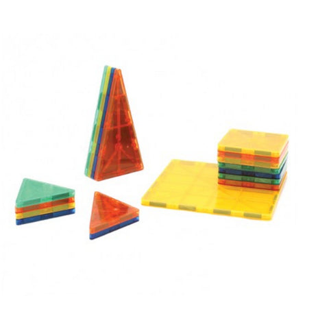 Neopuzzle Magnetic Tiles - 56 Piece Set | KidzInc Australia | Online Educational Toy Store