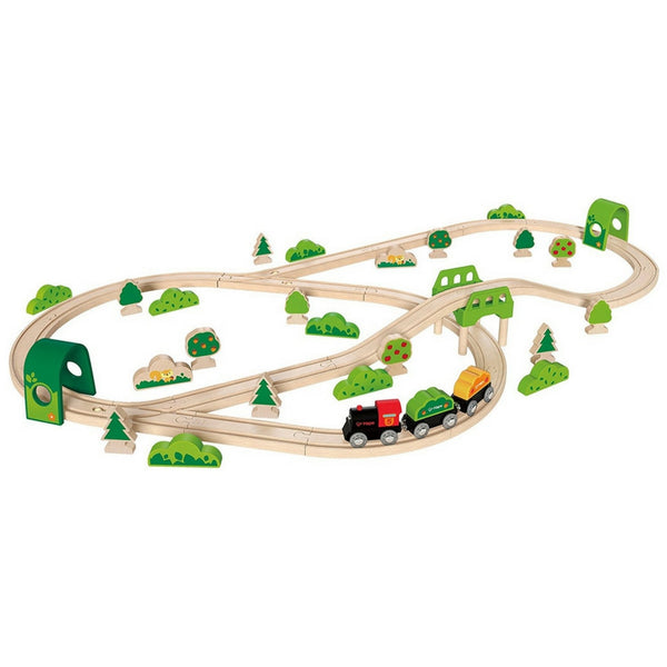 Hape - Forest Railway Train Set | KidzInc Australia | Online Educational Toy Store