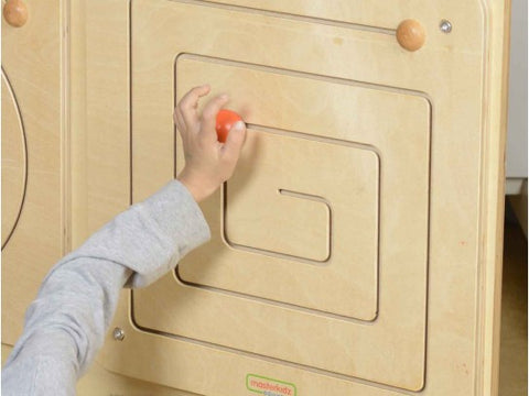 Masterkidz Education - Wall Elements Square Sliding Maze | KidzInc Australia | Online Educational Toy Store