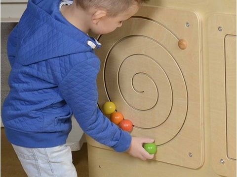 Masterkidz Education - Wall Elements Spiral Sliding Maze | KidzInc Australia | Online Educational Toy Store