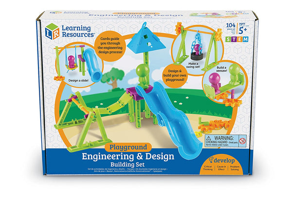 Learning Resources - Playground Engineering & Design Building Set | KidzInc Australia | Online Educational Toy Store