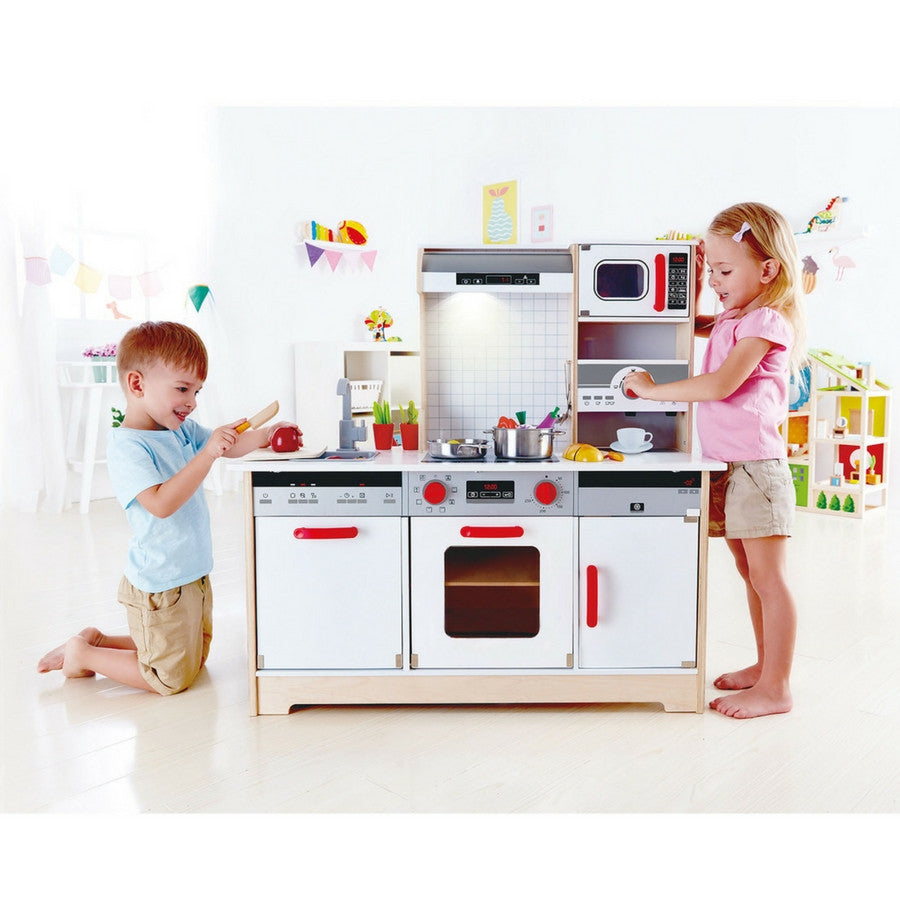 ... Hape   All In 1 Wooden Kitchen (PRE ORDER) | KidzInc ...