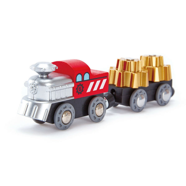 Hape - Railway Cogwheel Train | KidzInc Australia | Online Educational Toy Store