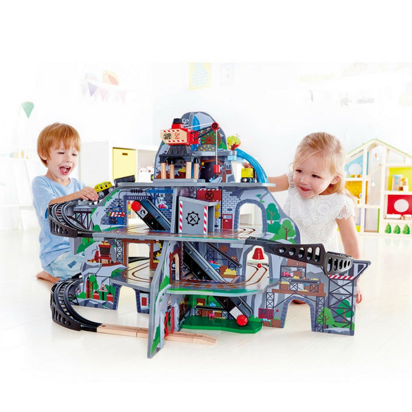 Hape - Mighty Mountain Railway | KidzInc Australia | Online Educational Toy Store