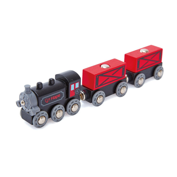 Hape - Railway Steam Era Freight Train | KidzInc Australia | Online Educational Toy Store