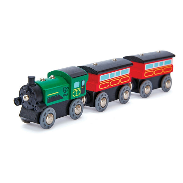 Hape - Railway Steam Era Passenger Train | KidzInc Australia | Online Educational Toy Store