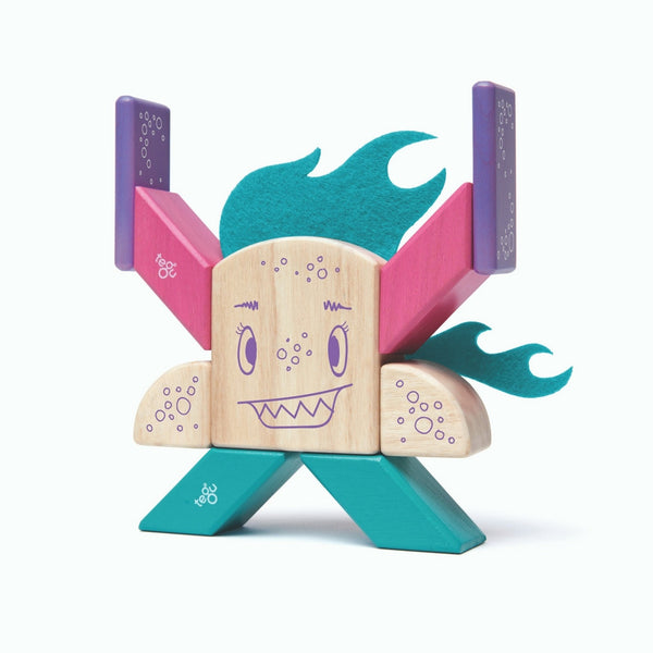 Tegu - Sticky Monsters FinkleBear 10 Pieces | KidzInc Australia | Online Educational Toy Store