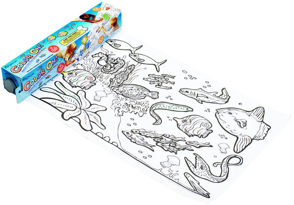 Great Explorations - Color ON! Colouring Roll Under the Sea | KidzInc Australia | Online Educational Toy Store