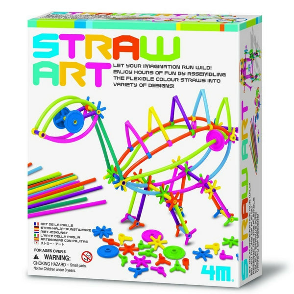 4M - Straw Art Kit | KidzInc Australia | Online Educational Toy Store