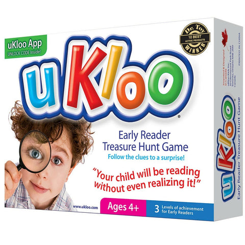 Ukloo Kids - Early Reader Treasure Hunt Game | KidzInc Australia | Online Educational Toy Store
