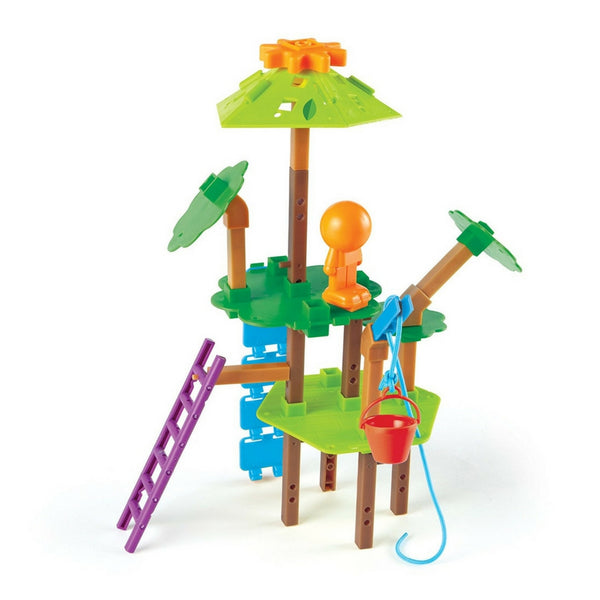 Learning Resources - Tree House Engineering and Design Building STEM Set | KidzInc Australia | Online Educational Toy Store