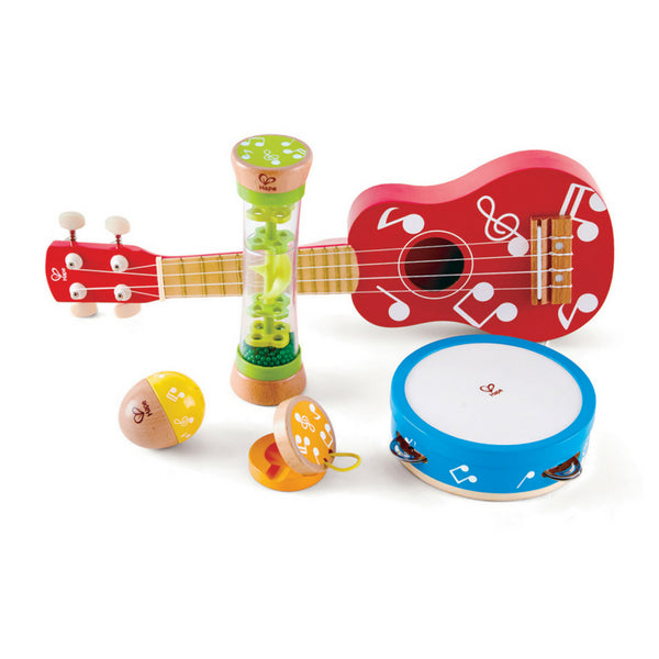 Hape Mini Band Set of 5 Instruments | KidzInc Australia | Online Educational Toys 2
