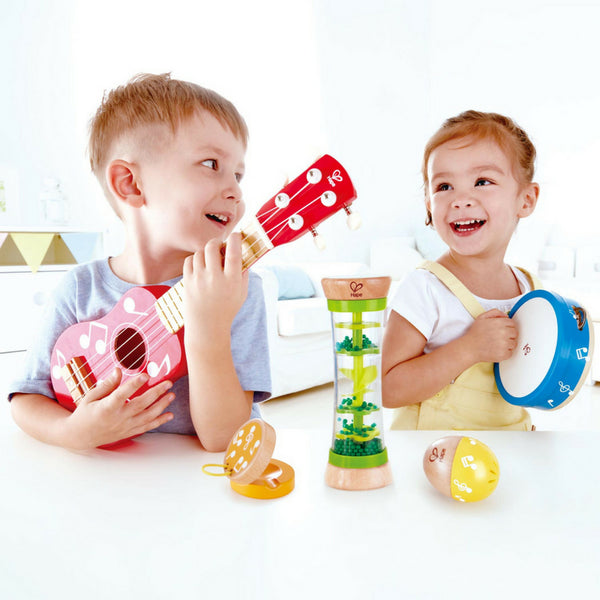 Hape Mini Band Set of 5 Instruments | KidzInc Australia | Online Educational Toys