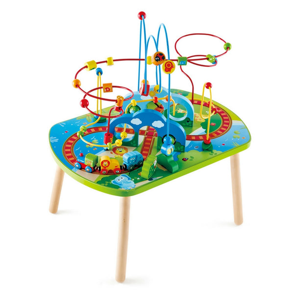 Hape - Jungle Adventure Railway Table | KidzInc Australia | Online Educational Toy Store