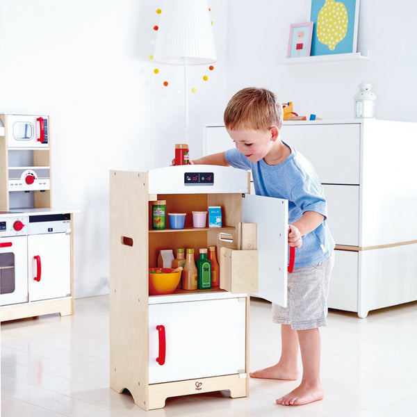 Hape -  Gourmet Fridge | KidzInc Australia | Online Educational Toy Store