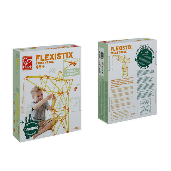 Hape Flexistix Truss Crane, STEM Building Set | KidzInc Australia | Online Educational Toys 3