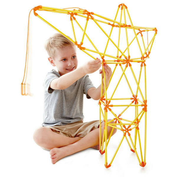 Hape Flexistix Truss Crane, STEM Building Set | KidzInc Australia | Online Educational Toys 2