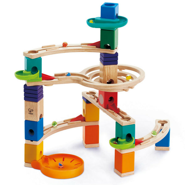 Hape Quadrilla Cliffhanger Marble Run | KidzInc Australia | Online Educational Toys