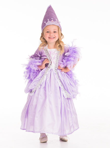 Little Adventures - Princess Cone Hat Lilac | KidzInc Australia | Online Educational Toy Store