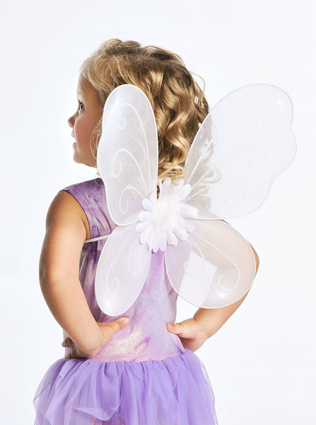 Little Adventures - Fairy Wings White | KidzInc Australia | Online Educational Toy Store