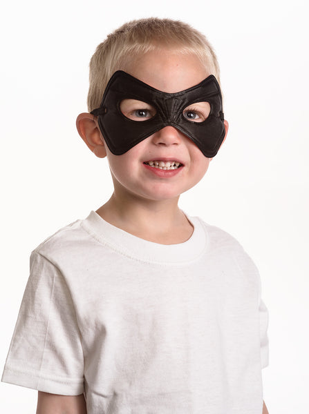 Little Adventures - Black and Red Power Kids Mask | KidzInc Australia | Online Educational Toy Store