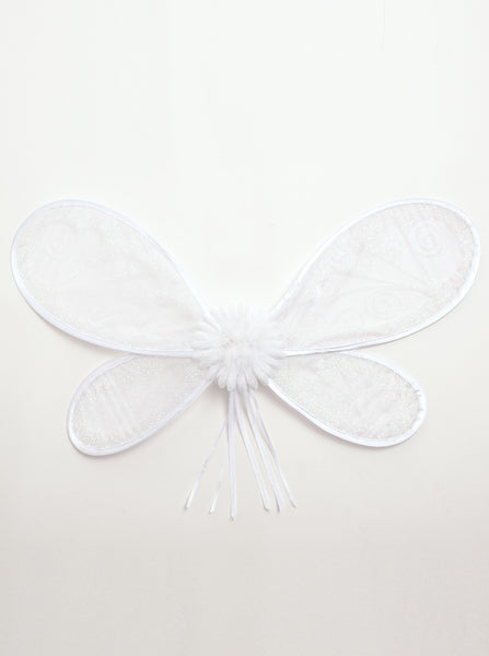 Little Adventures - Deluxe Fairy Wings White | KidzInc Australia | Online Educational Toy Store