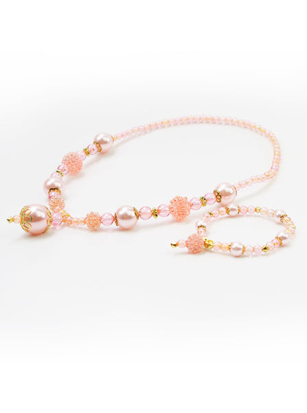 Little Adventures - Princess Jewellery Pink/Gold Set | KidzInc Australia | Online Educational Toy Store