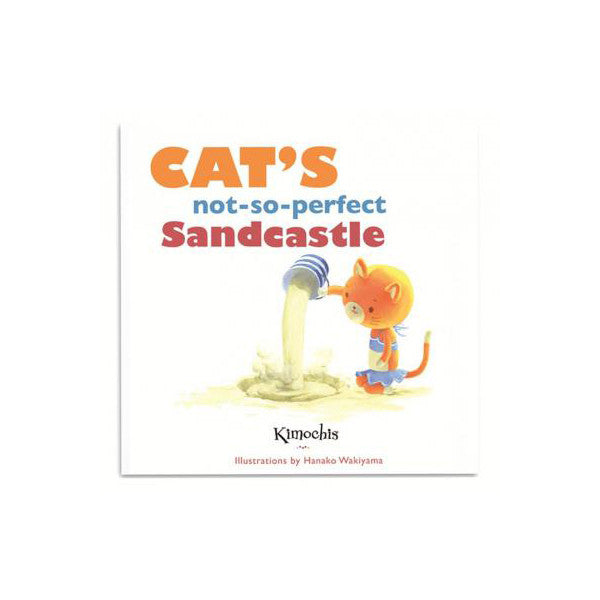 Kimochis - Cat's Not-So-Perfect Sandcastle Book | KidzInc Australia | Online Educational Toy Store