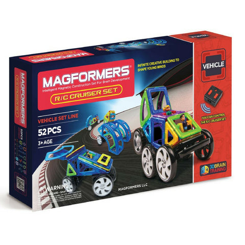 Magformers Vehicle R/C Cruiser Set 52 pieces | KidzInc Australia