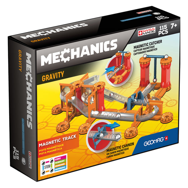 Geomag Mechanics Gravity Race Track 115 Pieces | KidzInc Australia | Online Educational Toys