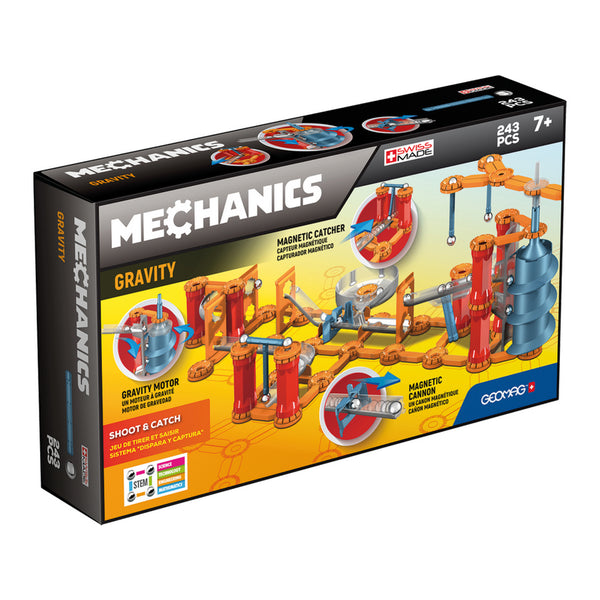 Geomag Mechanics Gravity Jump Run 243 Pieces | KidzInc Australia