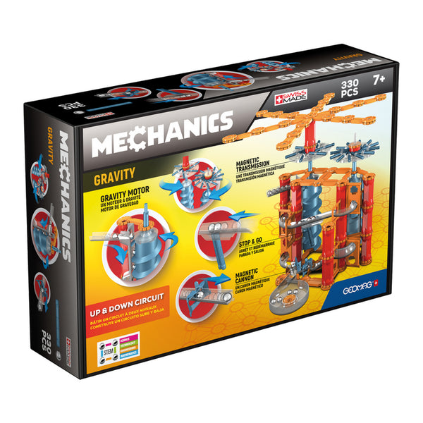 Geomag Mechanics Gravity Up and Down 330 Pieces | KidzInc Australia