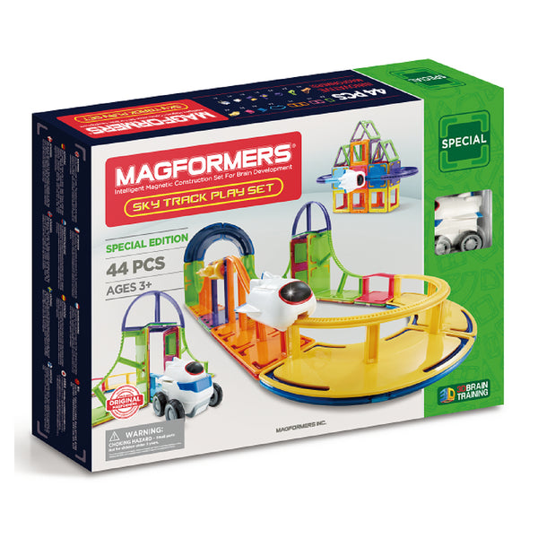 Magformers Special Edition Sky Track Play Set 44 Pc |KidzInc Australia