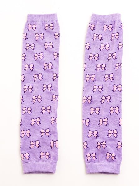 Little Adventures - Leg Warmers Bow Lilac and Pink | KidzInc Australia | Online Educational Toy Store