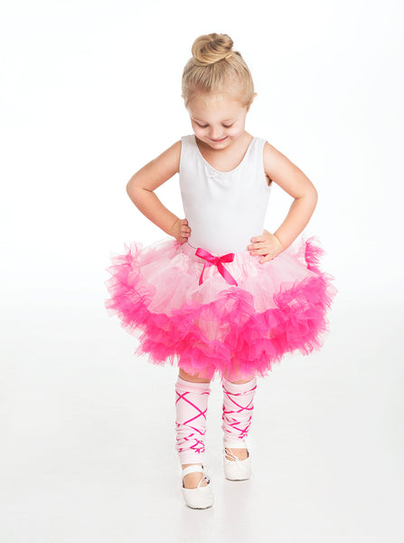 Little Adventures - Leg Warmers Ballerina Pink | KidzInc Australia | Online Educational Toy Store