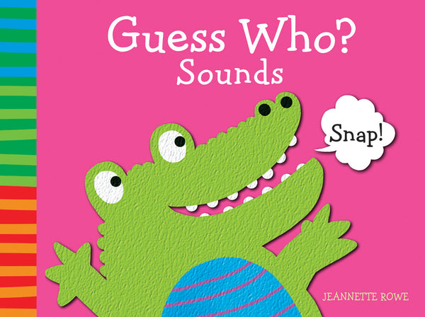 Five Mile Press - Guess Who? First Sounds Book | KidzInc Australia | Online Educational Toy Store