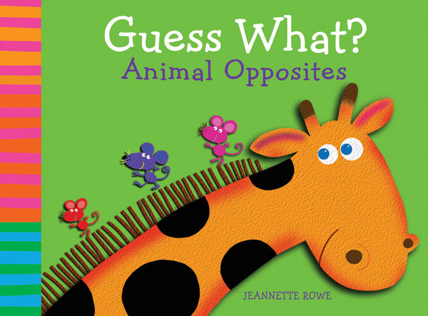 Five Mile Press - Guess What? Animal Opposites | KidzInc Australia | Online Educational Toy Store