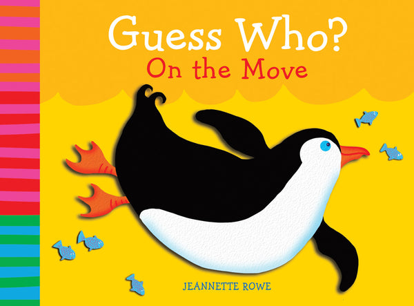 Five Mile Press - Guess Who? On the Move | KidzInc Australia | Online Educational Toy Store