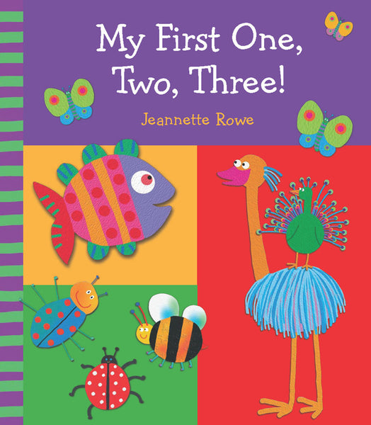 Five Mile Press - My First One, Two, Three! | KidzInc Australia | Online Educational Toy Store