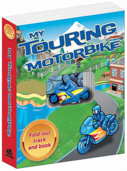 Five Mile Press - My Touring Motorbike | KidzInc Australia | Online Educational Toy Store