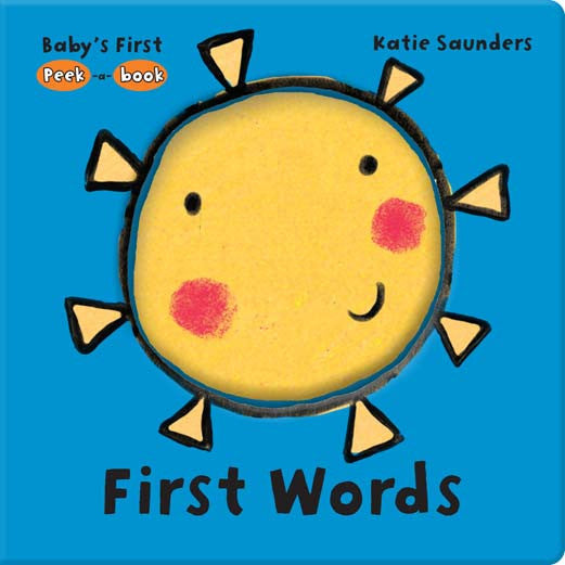 Five Mile Press - Peek-A-Book - First Words | KidzInc Australia | Online Educational Toy Store