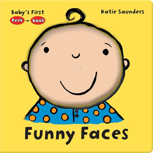 Five Mile Press - Peek-A-Book - Funny Faces | KidzInc Australia | Online Educational Toy Store